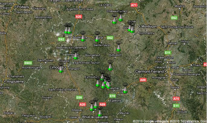 Carte Couverture Limousin